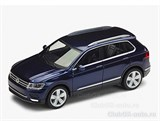 МОДЕЛЬ А/М 1:87 VW TIGUAN ATLANTIC BLUE - фото 7403